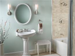 Wythe Blue Sherwin Williams English Country Bathroom Design Idea Wythe Blue Walls With