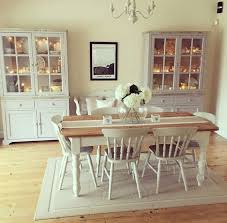 white dining table shabby chic country. fine table shabby and charme nel sud ovest dellu0027inghilterra a casa di charlotte  kitchen table chairspaint dining  in white chic country
