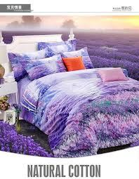 Purple Bedding Set Lavender King Size Queen Quilt Doona Duvet ... & See larger image Adamdwight.com