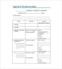 level 10 meeting template school meeting minutes templates 14 free sample example format
