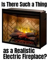 is there such a thing as a realistic electric fireplace i review the dimplex revillusion