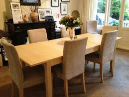 Dining Tables, Excellent Light Brown Rectangle Modern Wooden Dining Tables  Ikea Stained Design: Excellent ...