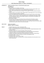 Instructional Technology Specialist Resume Samples Velvet Jobs
