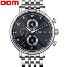 swatch watches men suppliers best swatch watches men mechanical watches men luxury brand dom fashion casual business watch vintage full stainless steel relogio masculino wristwatch cheap swatch watches men