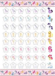 My Little Pony Potty Training Rewards Chart Potty Sticker