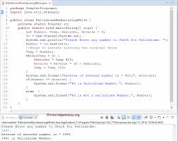 Jobs programming & related technical career opportunities. Palindrome Program In Java