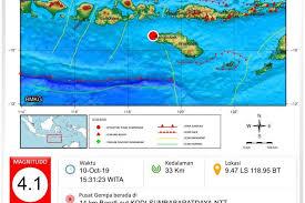 Gempa terjadi sekitar pukul 06.53 wib. Gempa Pertama Di Tahun 2021 Guncang Indonesia Bmkg Ungkap Di Mana Lokasinya Pikiran Rakyat Com
