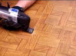 removing vinyl flooring dremel multi max