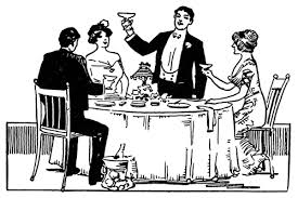 fancy dinner table clipart. fancy dinner table clipart with formal setting e