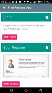 app resume top 5 best resume apps for android in 2018 apps for creating a resume