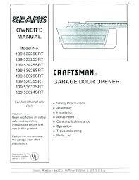 craftsman garage door opener car programming craftsman garage door opener programming er garage door keypad manual