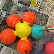 Golf Ball Decorations GOLF BALL Garden Decorations 100 Steps with Pictures 43