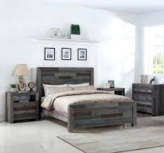 California King Platform Bed Frame Angora Reclaimed Wood King ...
