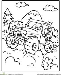 Small Picture Off Road Vehicle Worksheet Educationcom