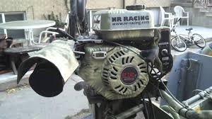 predator 212 cc on dixie mud motor frame