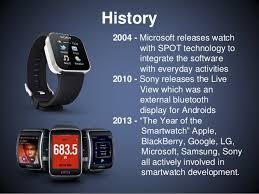 Emerging Technology Presentation Smartwatches