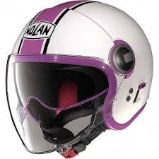 Nolan N21 Vintage Visor Duetto Womens Motorcycle Helmet