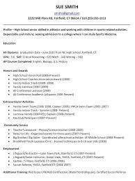 High School Job Resume – Markedwardsteen.com