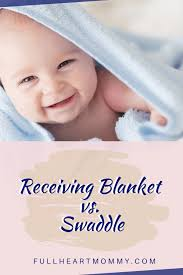 receiving blanket vs swaddle blanket