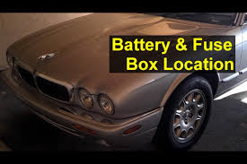 jaguar battery and fuse box location battery removal and battery jaguar battery and fuse box location battery removal and battery boosting auto repair series