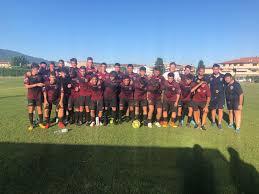 Gli Allievi del Pontedera battono 2 a 1 gli Juniores Nazionali  dell'Aglianese - U.S. Citta di Pontedera