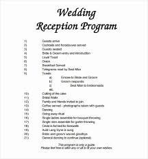 Wedding Program Free Template Elegant 67 Wedding Program