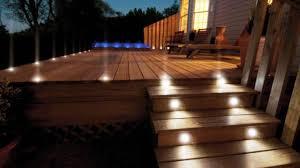 Flush Mount Deck Lights Solar Amusing Outdoor Deck Lighting Low Led Ideas Unique Exterior