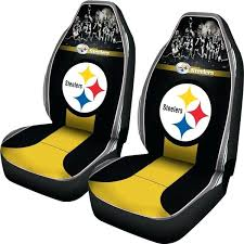 steelers car seat cover nfl pittsburgh steelers car seat covers