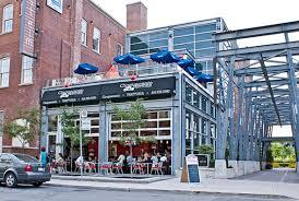Creativity Commercial Garage Door Restaurant Of Restaurants With Patios Toronto Review In Modern Ideas