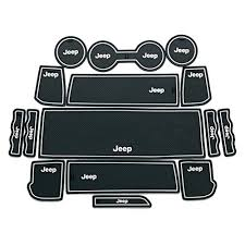 jeep patriot 2014 black. moonet heavy duty nonslip interior door cup mat fit 2011 2012 2014 2015 jeep compass patriot 15pcs white with luminous black