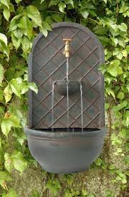 outdoor wall water fountains outdoor wall mounted water features outdoor wall water fountain ideas