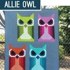 Allie Owl Quilt Pattern – gather here online & Elizabeth Hartman - Allie Owl Quilt Pattern - - gatherhereonline.com Adamdwight.com