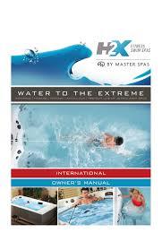 2016 H2x Swim Spa Owners Manual International Manualzz Com