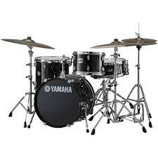yamaha stage custom. alternate image for yamaha stage custom 3-piece bebop drum set shell pack (18