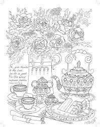Free Tea Party Coloring Pages Milwaukeepaindoctors