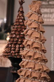 How to Make a Burlap DIY Christmas Tree