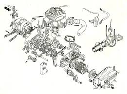 best images about random norton motorcycle bmw bultaco engine exploded view scanned from an old steve s bultaco catalog