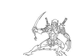 Small Picture Tree Sword Ninja Coloring Page Download Print Online Coloring