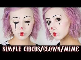 simple circus makeup 2016