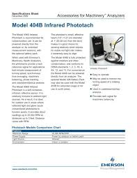 Csi 404b Phototach Emerson Process Management