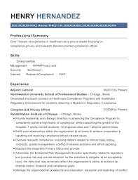 Best Compliance Privacy Officer Resumes Resumehelp