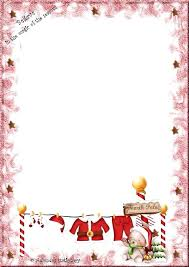Kid Downloadable Christmas Stationery Download Free Ooojo Co