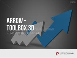 3d Flow Chart Powerpoint Powerpoint Flowchart Template Powerpoint Arrows