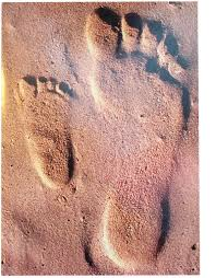 Sand Card Avanti Fathers Day Card Dad And Son Footsteps In Beach Sand Digs N
