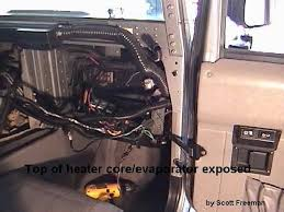hummer h1 wiring diagram hummer image wiring diagram heater core on hummer h1 wiring diagram
