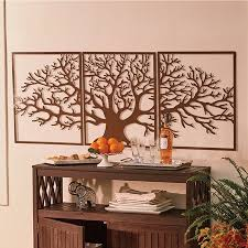 metal tree wall art outdoor wall decor
