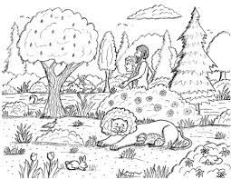 Garden of eden showing 12 coloring pages related to garden of eden. Robin S Great Coloring Pages Adam And Eve Walking In The Garden Of Eden Coloring Page