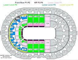 Charming Amalie Arena Seating Chart With Rows About Amalie