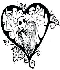 Jack Skeleton Coloring Pages Nightmare Before Coloring Love Jack
