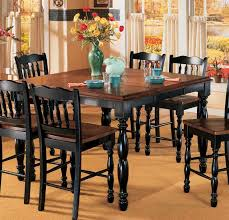 inspiring black dining table with leaf with best 25 counter height table ideas on bar height